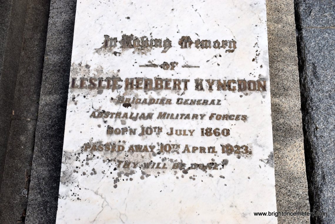 Leslie Herbert Kyngdon