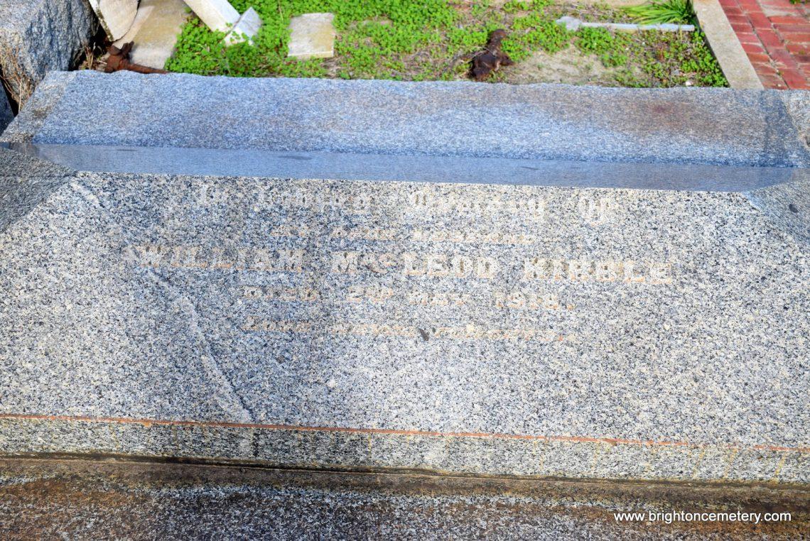 William Mcleod Morris Kibble