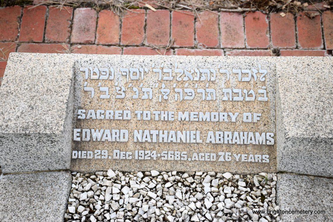 Edward Nathaniel Abrahams
