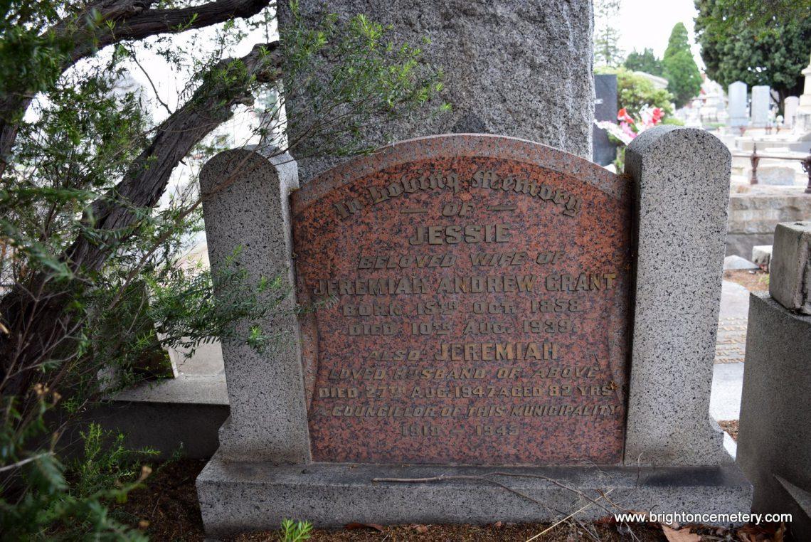 Jeremiah Andrew Grant
