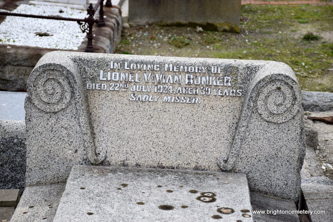 Lionel Vivian Bunker
